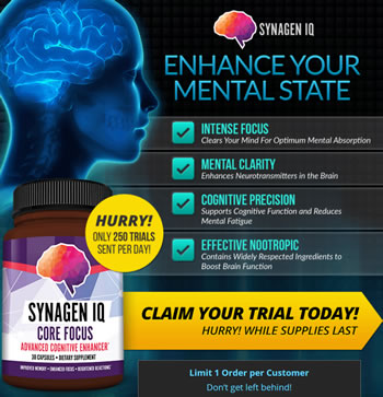 Synagen IQ Review – Can it Really Enhance Your Brain and Mental State?