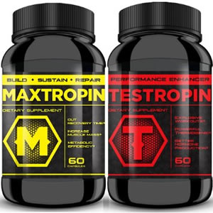 Maxtropin and Testropin Specially Offer