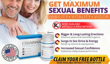 Priamax Enhanced Male Stamina Pills