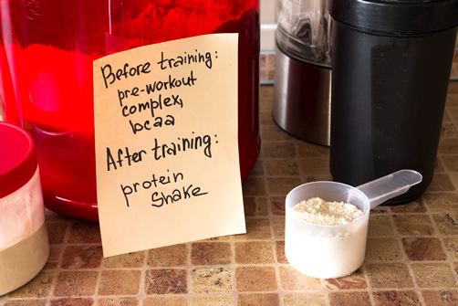 Branch Chained Amino Acids Pre Workout