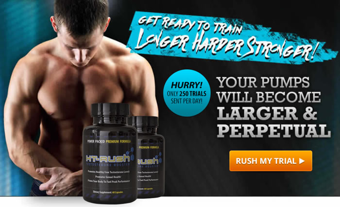 HT Rush Testosterone Booster special free trial offer