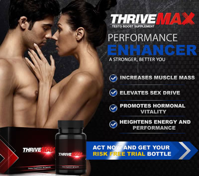 Thrivemax Testo Boost for muscles and male health