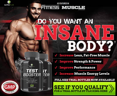 Alpha Plus Test Booster for a better muscle building