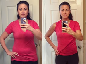 Laura and her Ph.375 results!