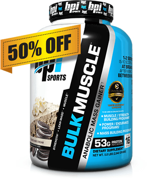 Bulk Muscle Mass Gainer
