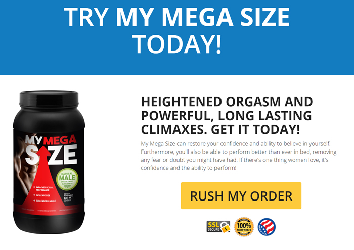 My Megasize special offer