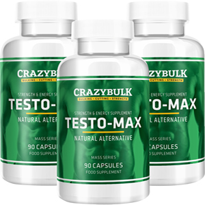 Testo-Max to boost testosterone levels for bigger muscles