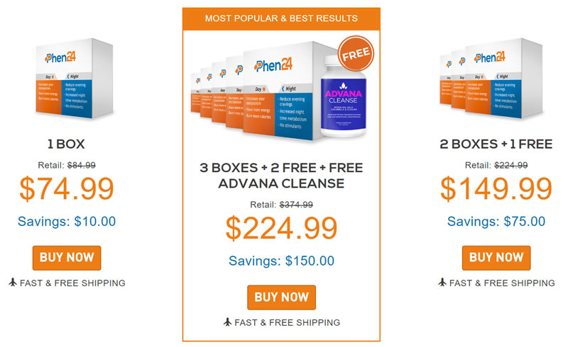 Get a special deal on Phen24