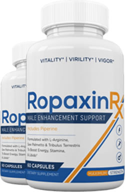 Bottles of Ropaxin RX