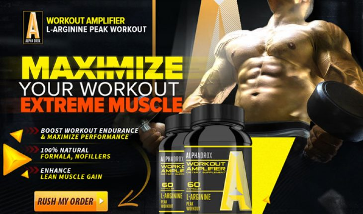 Alphadrox - Extra Power for Your Muscle Building Workouts