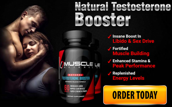 Muscle Science Testosterone Booster free trial