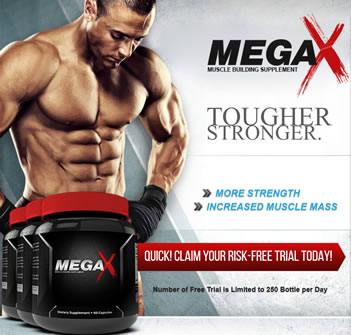 MegaX Muscle Building Supplement - For Maximum Performance