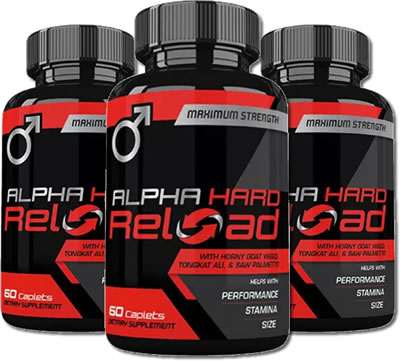 Alpha Hard Reload Review – For Better Male Health and Testosterone?