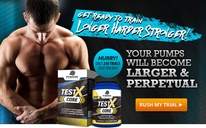 Test X Core free trial from Phenom Health