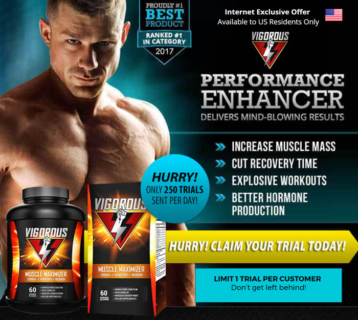 Vigorous Muscle Maximizer and free trial