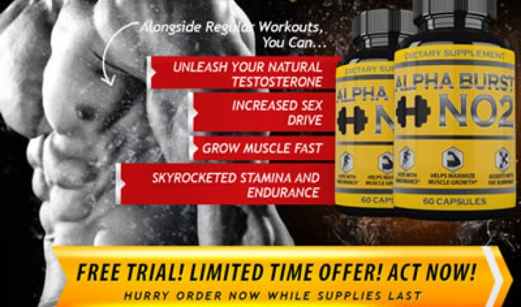 Alpha Burst No2 Review Nitric Oxide And Testosterone