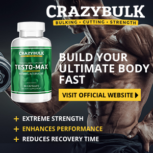 Crazybulk Testo-Max Legal Steroid - But Does It Build Rapid Muscles?