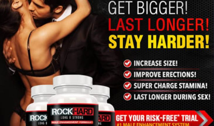 Rock Hard Long and Strong Male Enhancement