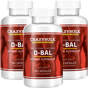 Crazy Bulk D-Bal for better muscle building