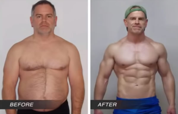 Ken T Before and After Using Maximum Male