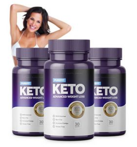 Bottles of Pure Fit Keto