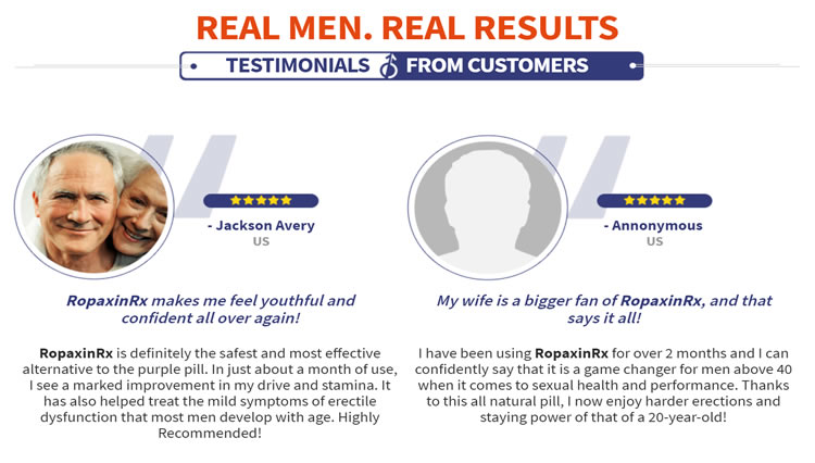 what are users of Ropaxin RX saying in their testimonials
