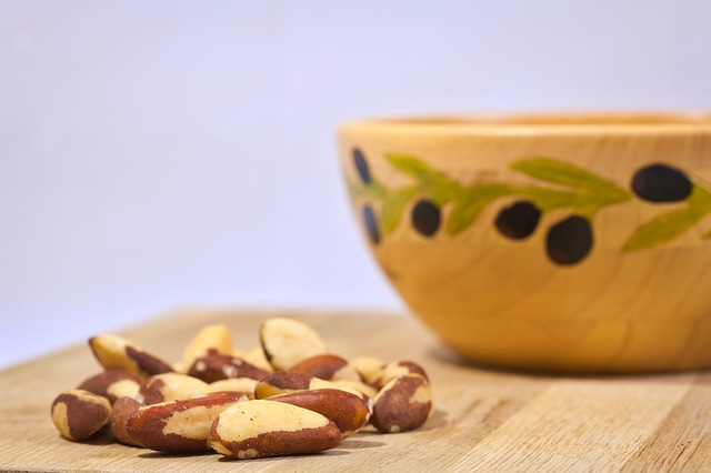 Brazil Nut and nuts in general are excellent sources of vitamin b3