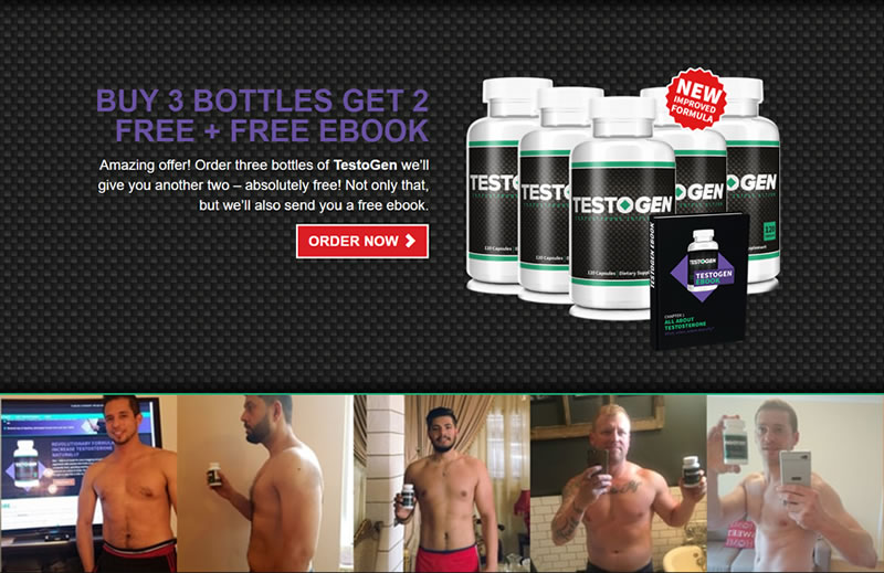 Get a special deal on Testogen